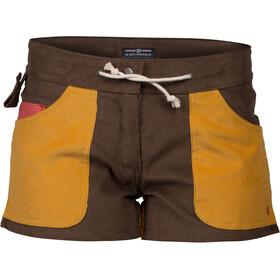 """Amundsen Sports Concord 3"""" Shorts Dame cowboy/yellow haze"""